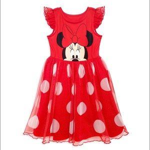 Disney Nightgown Minnie Mouse Tutu Dress  Pjs